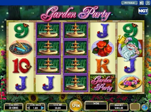 Enchanted Garden Online Video Slot