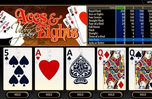 Aces and Eights Video Poker Guide Online