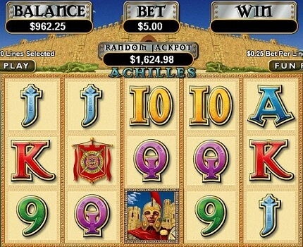 Taking a Look at Achilles Slot Casino Game
